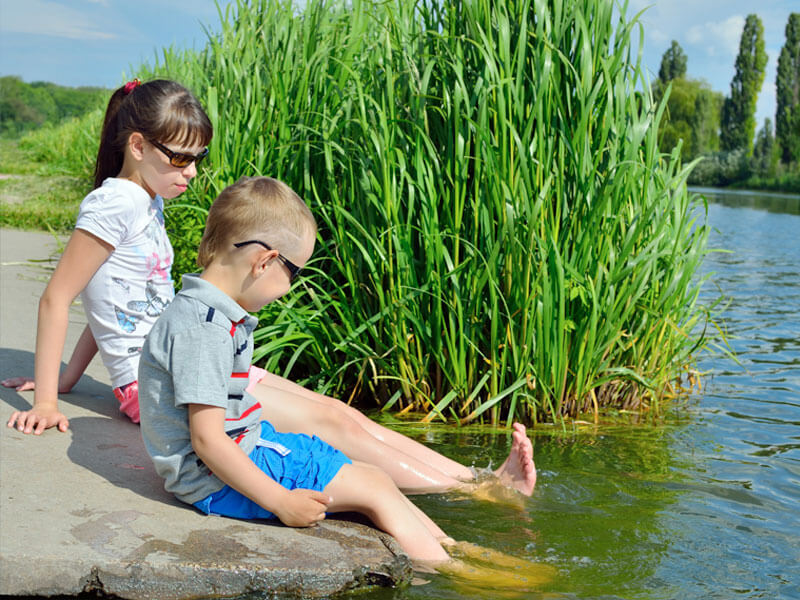 Sask lake great for families with small kids